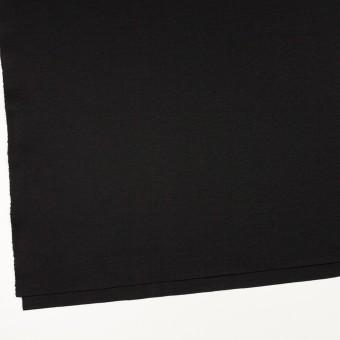 ウール×無地(ブラック)×スムースニット サムネイル2
