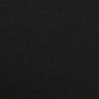 ウール×無地(ブラック)×スムースニット サムネイル1