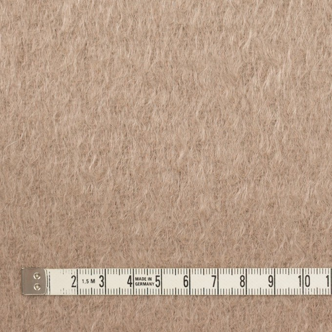 ウール&モヘア×無地(ロージーベージュ)×シャギー イメージ4