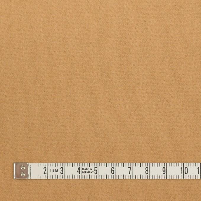 ウール&ナイロン×無地(キャメル)×フラノ(フランネル) イメージ4