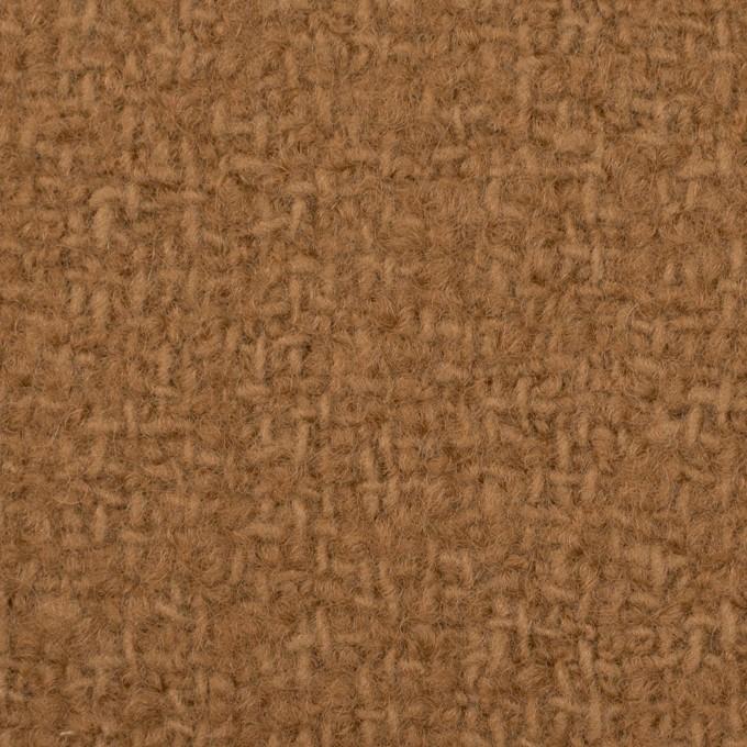 ウール×無地(シナモン)×かわり織 イメージ1