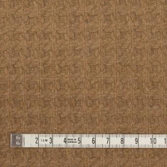 ウール&ポリエステル混×無地(シナモン)×かわり織 サムネイル4
