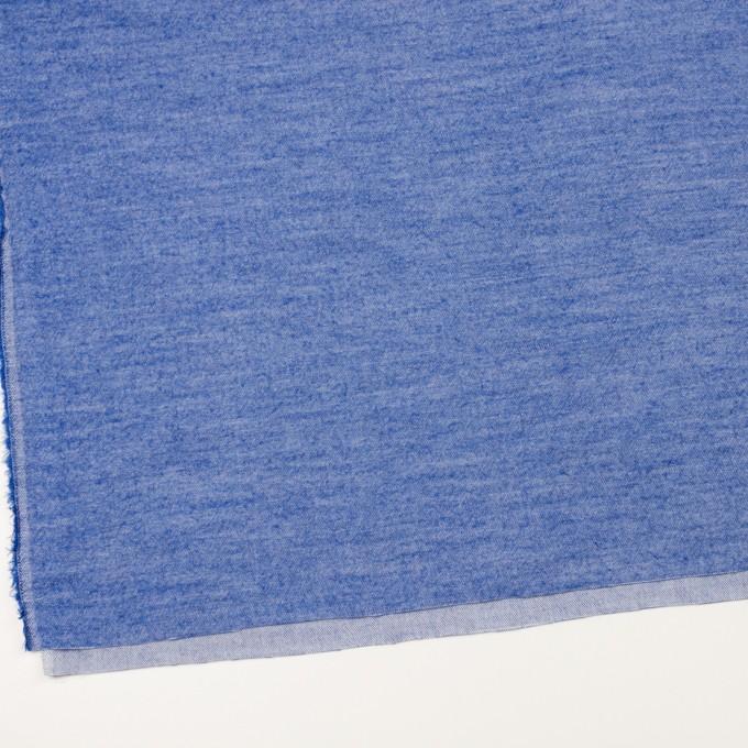 コットン×無地(オリエンタルブルー)×ビエラ イメージ2