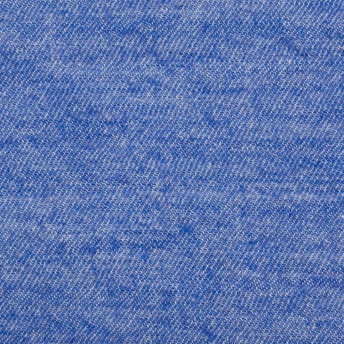 コットン×無地(オリエンタルブルー)×ビエラ イメージ1