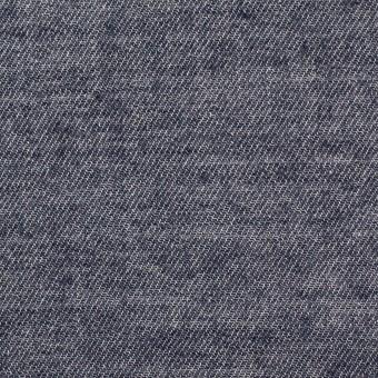 コットン&ウール×無地(ネイビー)×ビエラ サムネイル1