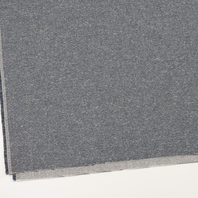 コットン&アクリル×無地(スチールグレー)×かわり織 イメージ2