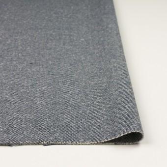 コットン&アクリル×無地(スチールグレー)×かわり織 サムネイル3