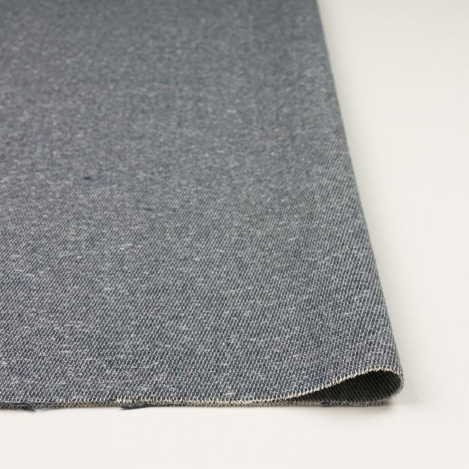 コットン&アクリル×無地(スチールグレー)×かわり織 イメージ3