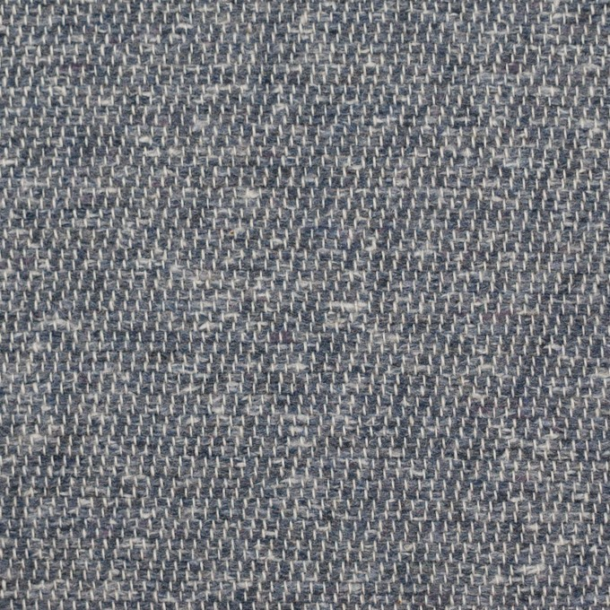 コットン&アクリル×無地(スチールグレー)×かわり織 イメージ1