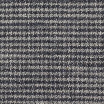 コットン×チェック(グレー&グレープグレー)×千鳥格子 サムネイル1