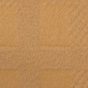 ウール&アンゴラ×チェック(キャメル)×ビーバージャガード_全2色