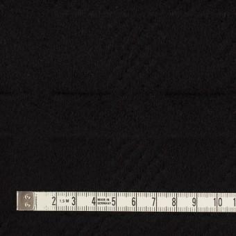 ウール&アンゴラ×チェック(ブラック)×ビーバージャガード_全2色 サムネイル4