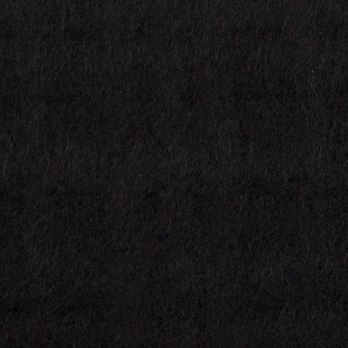 ウール×チェック(ブラック)×ビーバージャガード イメージ1