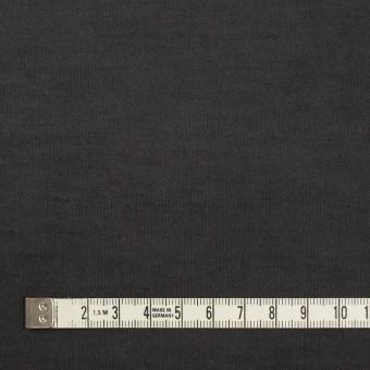 コットン&ポリウレタン×無地(チャコール)×フランネル・ストレッチ_全2色 サムネイル4
