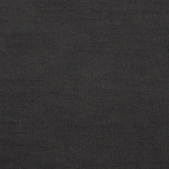 コットン&ポリウレタン×無地(チャコール)×フランネル・ストレッチ_全2色 イメージ1