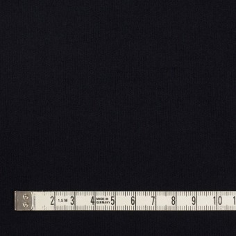 コットン&ポリウレタン×無地(ダークネイビー)×フランネル・ストレッチ_全2色 サムネイル4