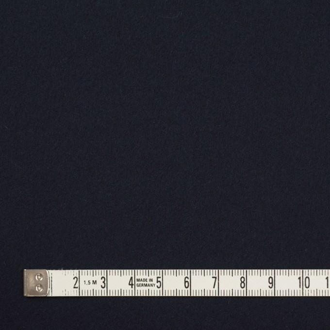 コットン×無地(ダークネイビー)×フランネル イメージ4