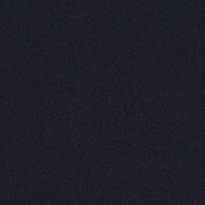 コットン×無地(ダークネイビー)×フランネル イメージ1