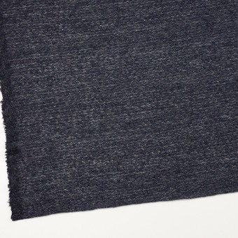 ウール&アクリル混×無地(グレープグレー)×メッシュニット サムネイル2