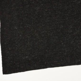 アクリル&ナイロン混×無地(チャコールブラック)×メッシュニット サムネイル2