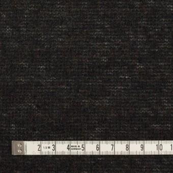 アクリル&ナイロン混×無地(チャコールブラック)×メッシュニット サムネイル4