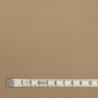 コットン×無地(カーキベージュ)×モールスキン_イタリア製 サムネイル4