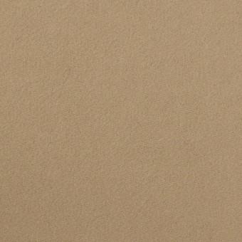 コットン×無地(カーキベージュ)×モールスキン_イタリア製 サムネイル1