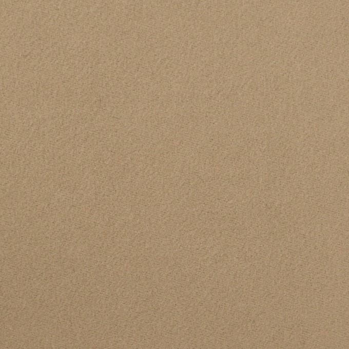 コットン×無地(カーキベージュ)×モールスキン_イタリア製 イメージ1