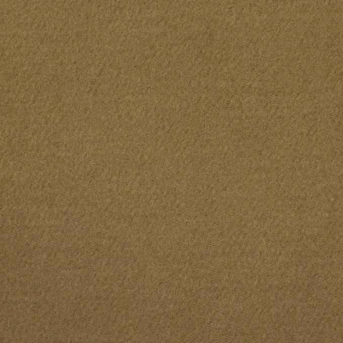 コットン&ナイロン×無地(カーキ)×フランネル_イタリア製 イメージ1