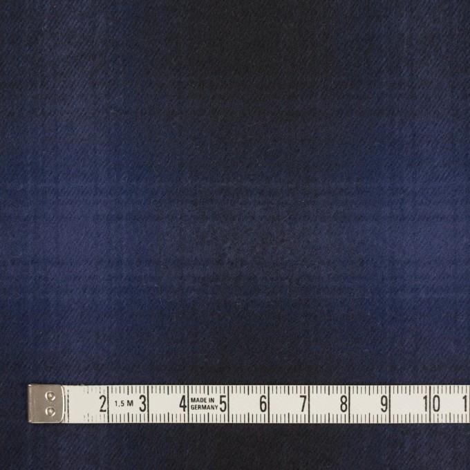 コットン×チェック(バイオレット&ダークネイビー)×フランネル イメージ4