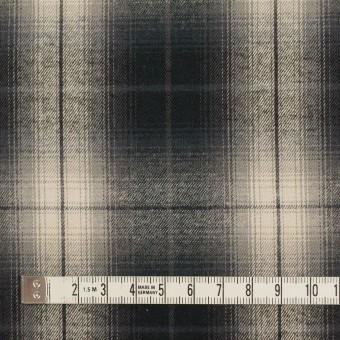 コットン×チェック(キナリ&チャコールブラック)×ビエラ サムネイル4