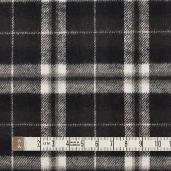 コットン×チェック(ブラック)×フランネル サムネイル4