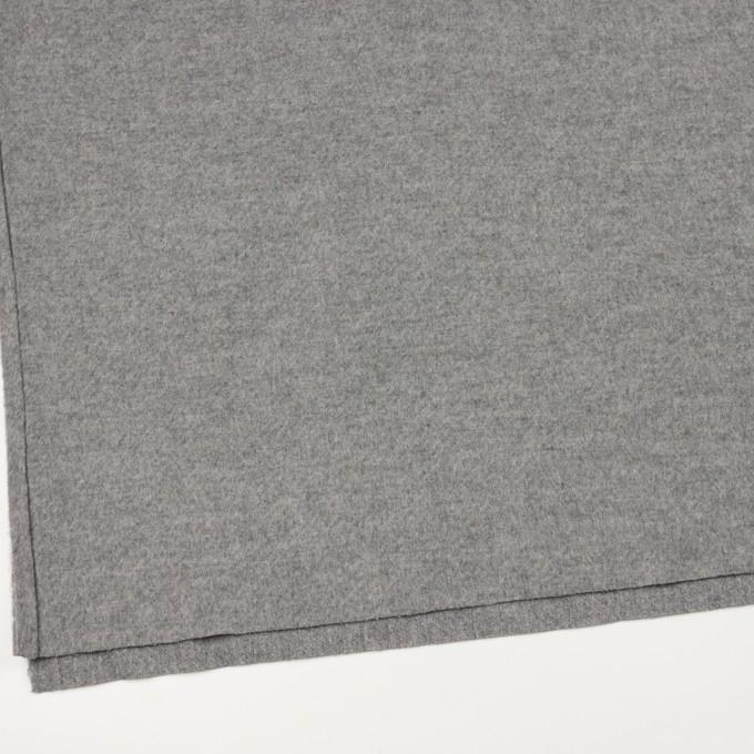 ウール&ナイロン×無地(グレー)×かわり織 イメージ2