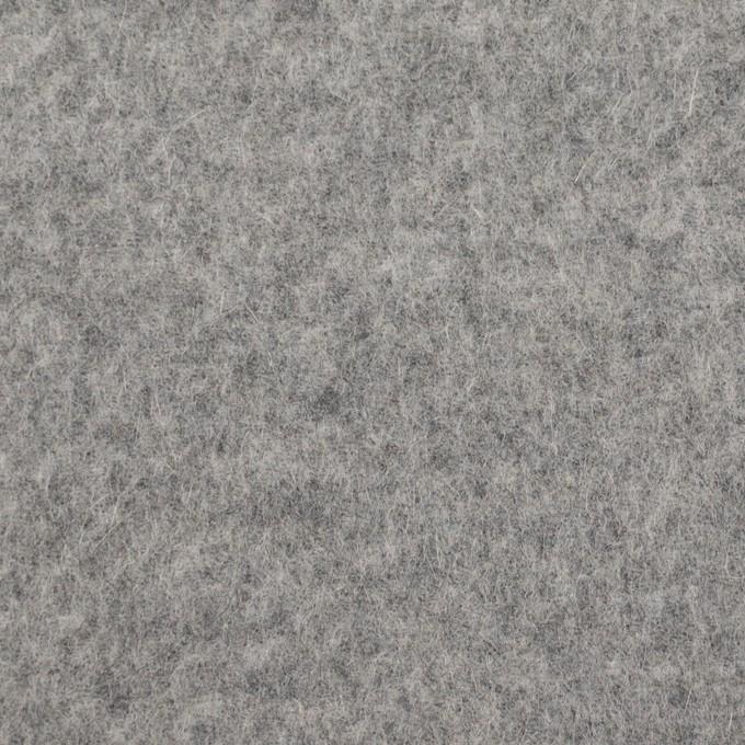 ウール&ナイロン×無地(グレー)×かわり織 イメージ1