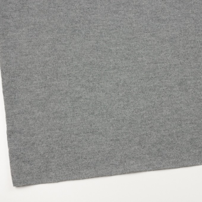 ウール&ナイロン×無地(グレー)×圧縮ニット イメージ2