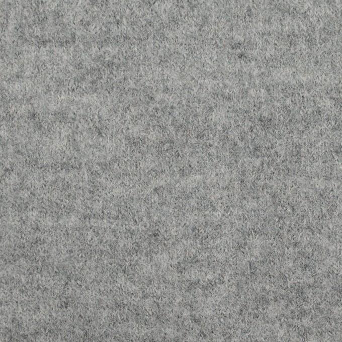 ウール&ナイロン×無地(グレー)×圧縮ニット イメージ1