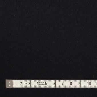ウール×無地(ブルーブラック)×フラノ(フランネル) サムネイル4