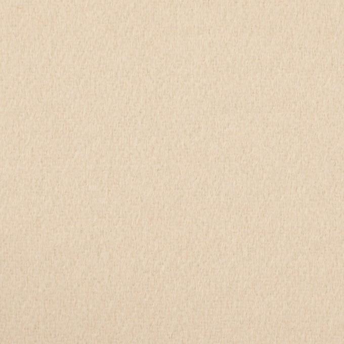ウール×無地(バニラ)×ビーバー イメージ1