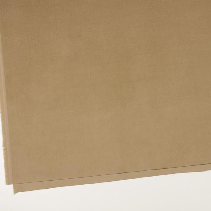コットン&ポリウレタン×無地(カーキベージュ)×細コーデュロイ・ストレッチ イメージ2