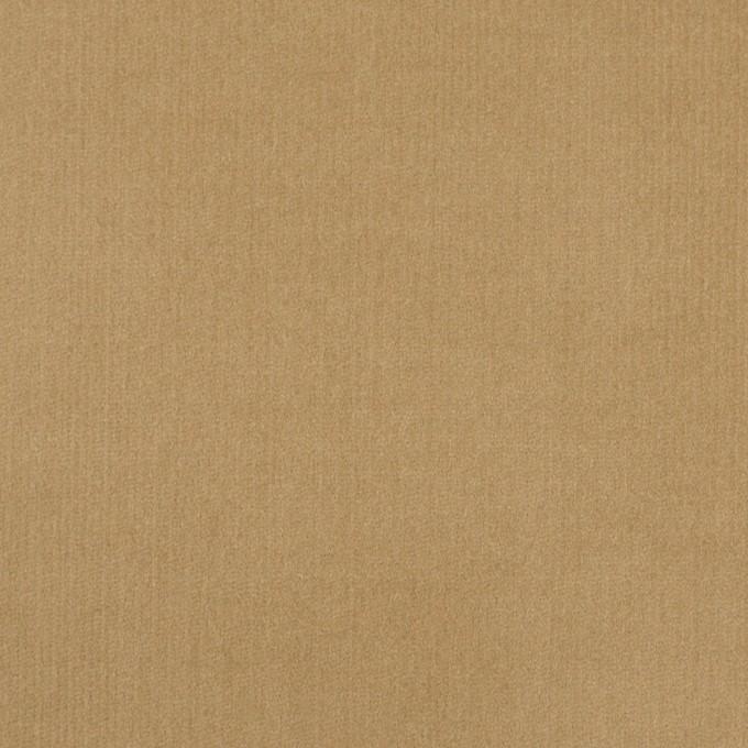 コットン&ポリウレタン×無地(カーキベージュ)×細コーデュロイ・ストレッチ イメージ1