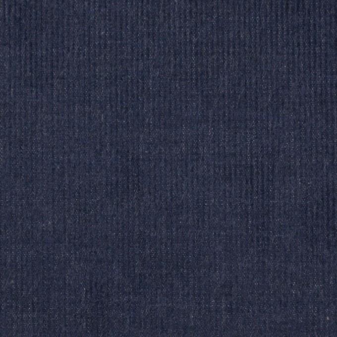 コットン×無地(ダークスレートブルー)×細コーデュロイ イメージ1