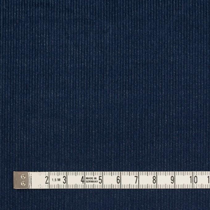 コットン&ポリウレタン×無地(ネイビー)×細コーデュロイ・ストレッチ イメージ4