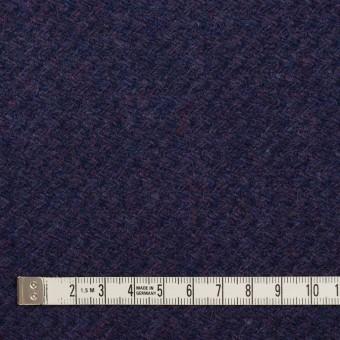 ウール×無地(グレープ)×かわり編み サムネイル4