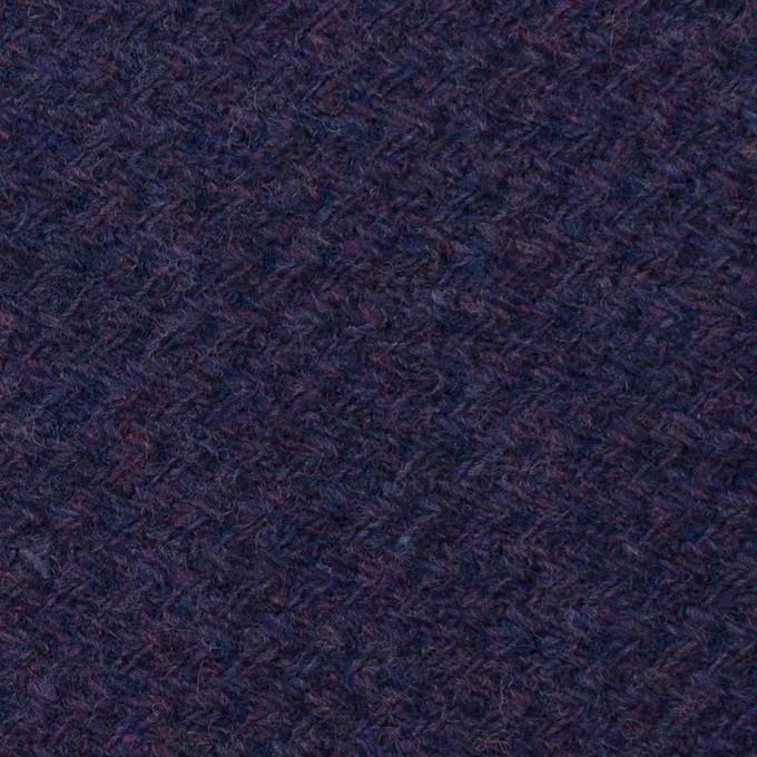 ウール×無地(グレープ)×かわり編み イメージ1