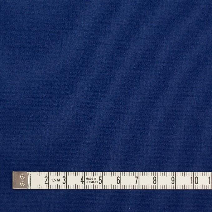 リヨセル&アクリル混×無地(マリンブルー)×Wニット イメージ4