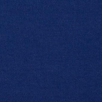 リヨセル&アクリル混×無地(マリンブルー)×Wニット サムネイル1