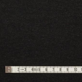 リヨセル&ナイロン混×無地(チャコールグレー&ブラック)×Wニット サムネイル5