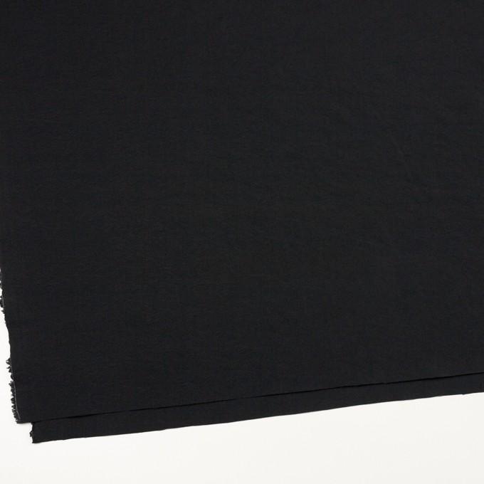 シルク&ナイロン(チャコールブラック)×ポプリン イメージ2
