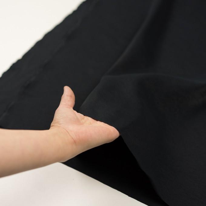 シルク&ナイロン(チャコールブラック)×ポプリン イメージ5