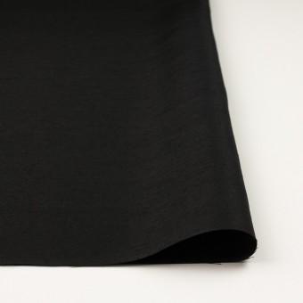 シルク×無地(ブラック)×Wシャンタン サムネイル3
